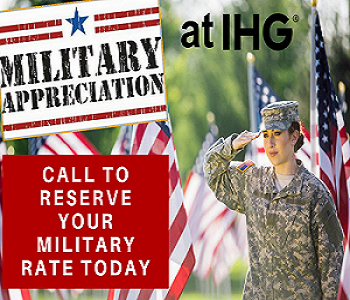 Military Appreciation Rate at IHG